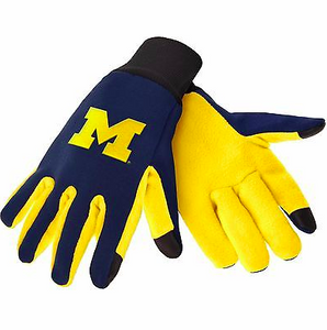 Michigan Wolverines Gloves - Technology Texting Gloves