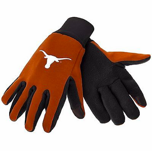 Texas Longhorns Gloves - Technology Texting Gloves