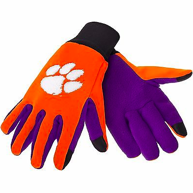 Clemson Tigers Gloves - Technology Texting Gloves