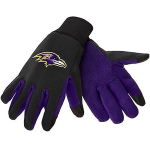 Baltimore Ravens Gloves - Technology Texting Gloves