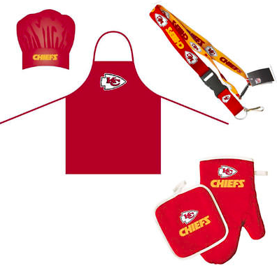 Kansas City Chiefs Combo Set - BBQ Combo Set