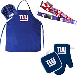 New York Giants Combo Set - BBQ Combo Set