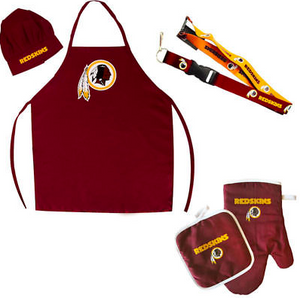 Washington Redskins Combo Set - BBQ Combo Set