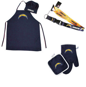 Los Angeles Chargers Combo Set - BBQ Combo Set