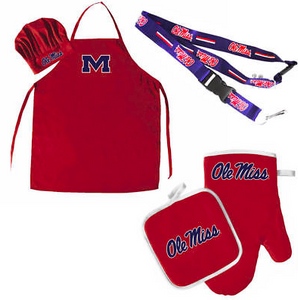 Ole Miss Rebels Combo Set - BBQ Combo Set
