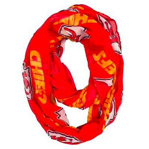 Kansas City Chiefs Scarf -  Infinity Scarf