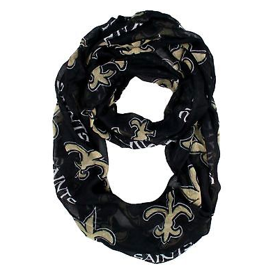 New Orleans Saints Scarf -  Infinity Scarf