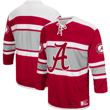 Load image into Gallery viewer, Alabama Crimson Tide Jersey - Hockey Style Custom Jersey - Any Name and Number