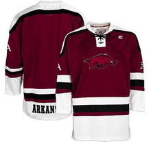 Load image into Gallery viewer, Arkansas Razorbacks Jersey - Hockey Style Custom Jersey - Any Name and Number