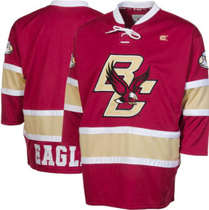 Boston College Eagles Jersey - Custom Logo Hockey Jersey - Any Name and Number