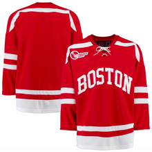 Load image into Gallery viewer, Boston University Jersey - Custom Red K1 Hockey Jersey - Any Name and Number