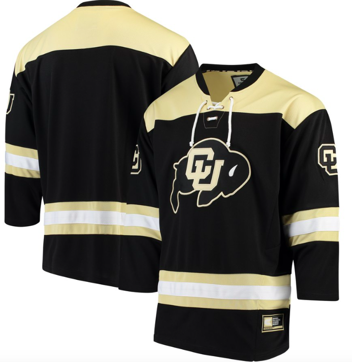 Colorado Buffaloes Jersey - Custom Hockey Jersey - Any Name and Number