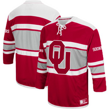 Load image into Gallery viewer, Oklahoma Sooners Jersey - Custom Hockey Style Jersey - Any Name and Number