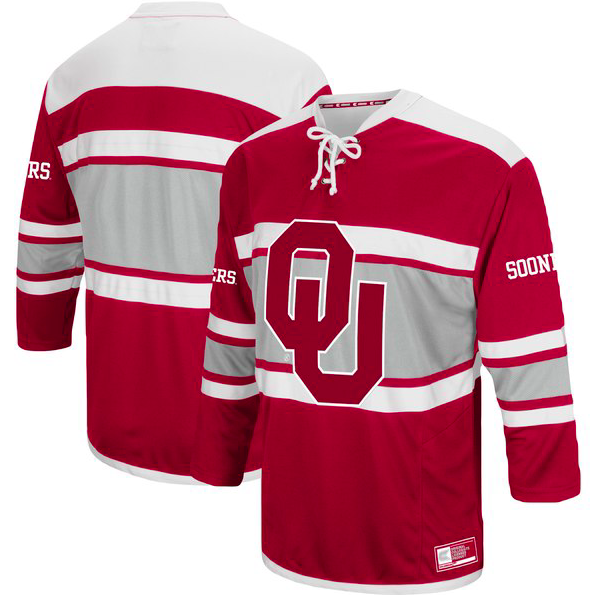 Oklahoma Sooners Jersey - Custom Hockey Style Jersey - Any Name and Number
