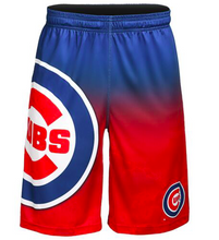 Load image into Gallery viewer, Chicago Cubs Shorts - Gradient Big Logo Training Shorts