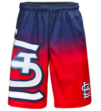 Load image into Gallery viewer, St Louis Cardinals Shorts - Gradient Big Logo Training Shorts