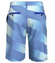 Load image into Gallery viewer, New York Yankees Shorts - Mens Diagonal Stripe Walking Shorts