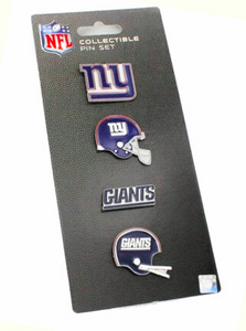 New York Giants - 4 Pin Collectible Set