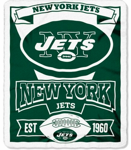 New York Jets Blanket - Fleece  (50
