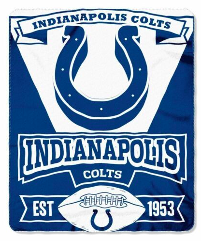 Indianapolis Colts Blanket - Fleece  (50