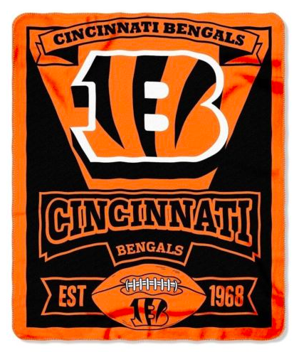 Cincinnati Bengals Blanket - Fleece  (50