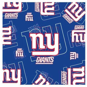 New York Giants Scarf -  Silky Style Scarf