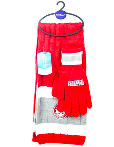 Alabama Crimson Tide Gloves- Winter Glove and Scarf Set