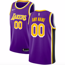 Load image into Gallery viewer, Los Angeles Lakers Jersey - Custom Name and Number - two color options