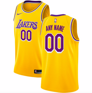 Los Angeles Lakers Jersey - Custom Name and Number - two color options