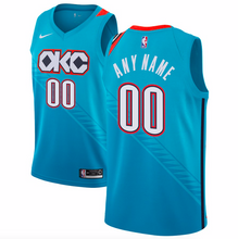 Load image into Gallery viewer, Oklahoma City Thunder Jersey - Custom Name and Number - Light Blue City