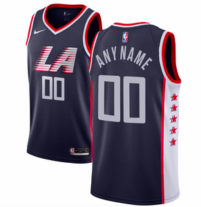 LA Clippers Jersey - Custom Name and Number - Two Colors/Styles