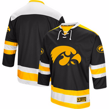Load image into Gallery viewer, Iowa Hawkeyes Jersey - Custom Logo Hockey Jersey - Any Name and Number