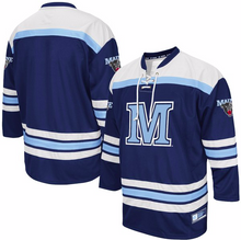Load image into Gallery viewer, Maine Black Bears Jersey - Custom Blue Hockey Jersey - Any Name and Number