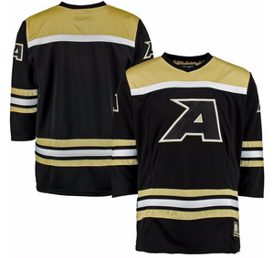 Army Black Knights Jersey - Custom Black Hockey Jersey - Any Name and Number