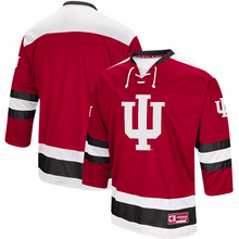 Load image into Gallery viewer, Indiana University Jersey - Custom Logo Hockey Jersey - Any Name and Number
