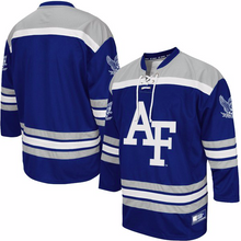 Load image into Gallery viewer, Air Force Falcons Jersey - Custom Hockey Jersey - Any Name and Number