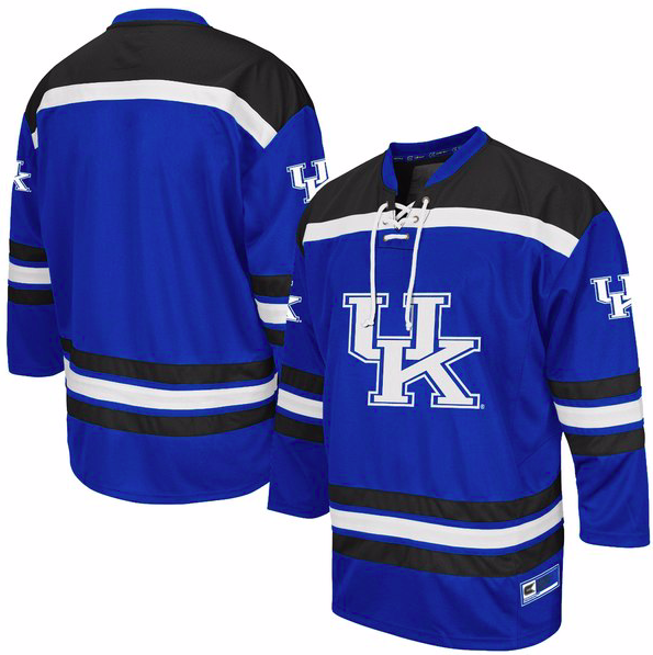 Kentucky Wildcats Jersey - Custom Hockey Style Jersey - Any Name and Number
