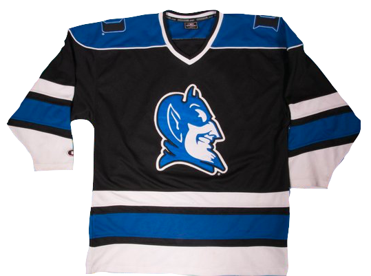 Duke Blue Devils Jersey - Custom Hockey Style Jersey - Any Name and Number