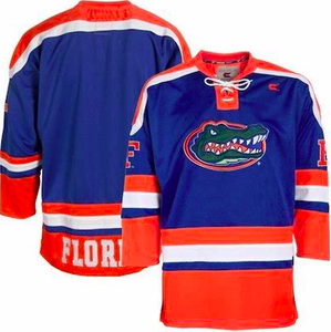 Florida Gators Jersey - Custom Hockey Style Jersey - Any Name and Number