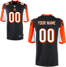 Load image into Gallery viewer, Cincinnati Bengals Jersey - Men's Black Custom Game Jersey