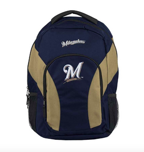 Milwaukee Brewers Backpack - Draft Day Backpack