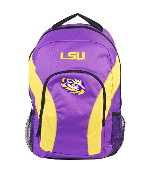 LSU Tigers Backpack - Draft Day Backpack