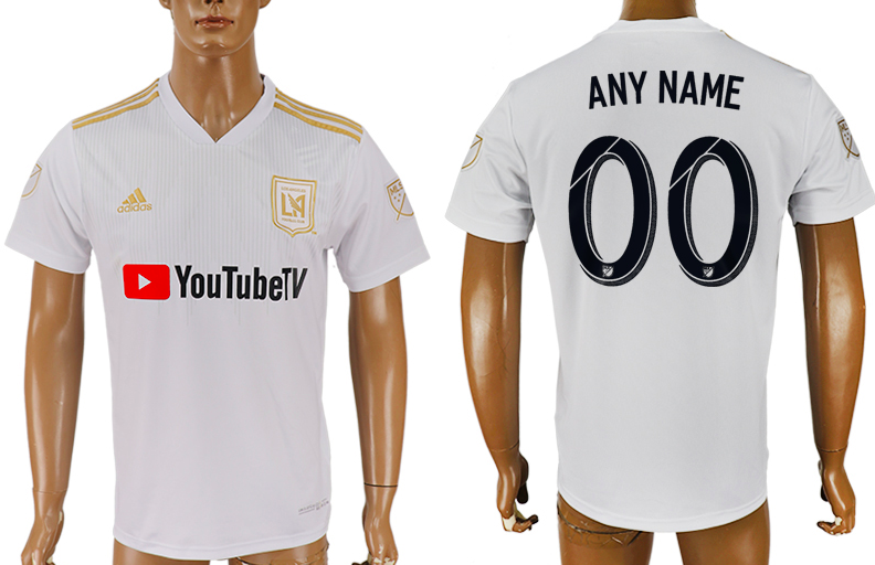 Los Angeles FC Jersey - Custom Any Name or Number White Jersey