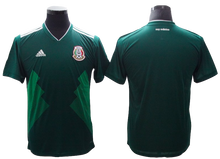 Load image into Gallery viewer, Mexico 2018 FIFA World Cup Jersey - Custom Any Name or Number Green Jersey