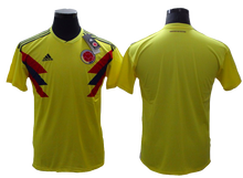 Load image into Gallery viewer, Columbia 2018 FIFA World Cup Jersey - Custom Any Name or Number Yellow Jersey