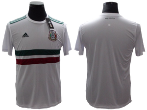 Mexico 2018 FIFA World Cup Jersey - Custom Any Name or Number White Jersey