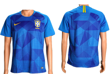 Load image into Gallery viewer, Brazil 2018 FIFA World Cup Jersey - Custom Any Name or Number Blue Jersey