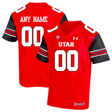 Load image into Gallery viewer, Utah Utes Jersey - Custom Red Jersey - Any Name and Number