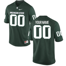 Load image into Gallery viewer, Michigan State Spartans Jersey - Custom Green Jersey - Any Name and Number