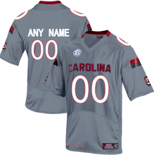 Load image into Gallery viewer, South Carolina Gamecocks Jersey - Custom Gray Jersey - Any Name and Number